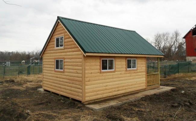 14×16-cabin-6-ft-porch-log-siding-steel-roof-loft